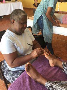 Massage training in Africa